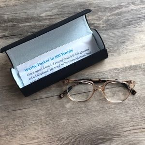 Claudia Warby Parker frames